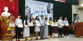 Trường THPT Võ Chí Công đạt giải Nhì tại hội thi